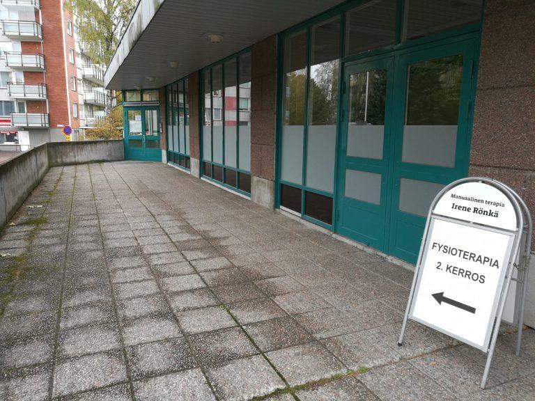 Manuaalinen terapia Irene Rönkä sijainti